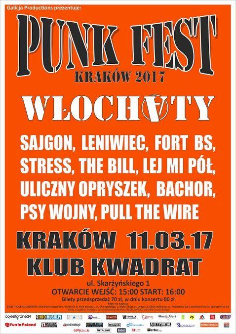 Galeria zdjęć z Punk Festu w Krakowie-> http://heavy-metal-music-and-more.blogspot.com/2017/03/punk-fest-w-obiektywie.html