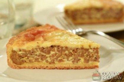 Receita de Quiche de carne moída em receitas de tortas salgadas, veja essa e outras receitas aqui!
