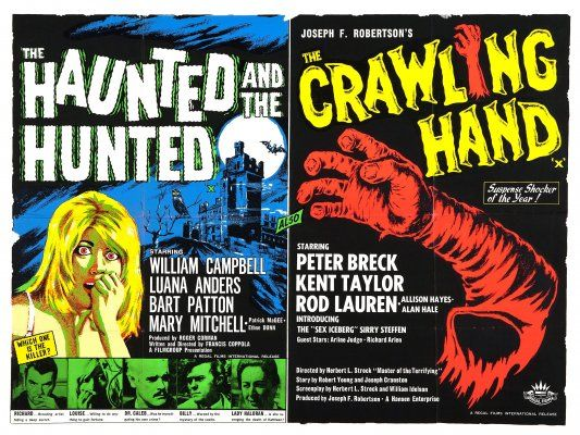 Dementia 13 (aka The Haunted and the Hunted) (1963, USA) / The Crawling Hand (1963, USA)
