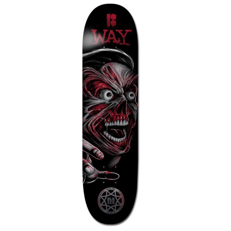 "Plan B Skateboard Deck - Damage Terminal Velocity Way 8.125"" | Skateboard Decks | Complete Skateboards, Decks, Trucks & Accessories | Skate Shop | Skatehut | Skatehut"