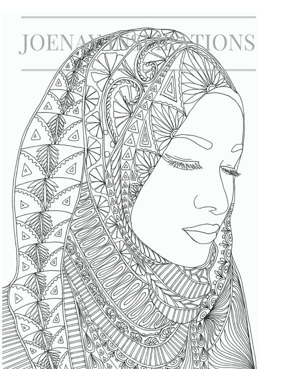 Adults Coloring Book Printable Pages For