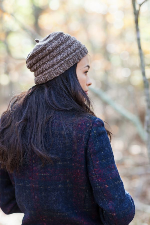 Hickory cap from Brooklyn Tweed