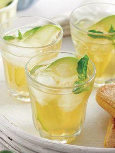Elmalı soğuk çay Tarifi - İçecekler Yemekleri - Yemek Tarifleri