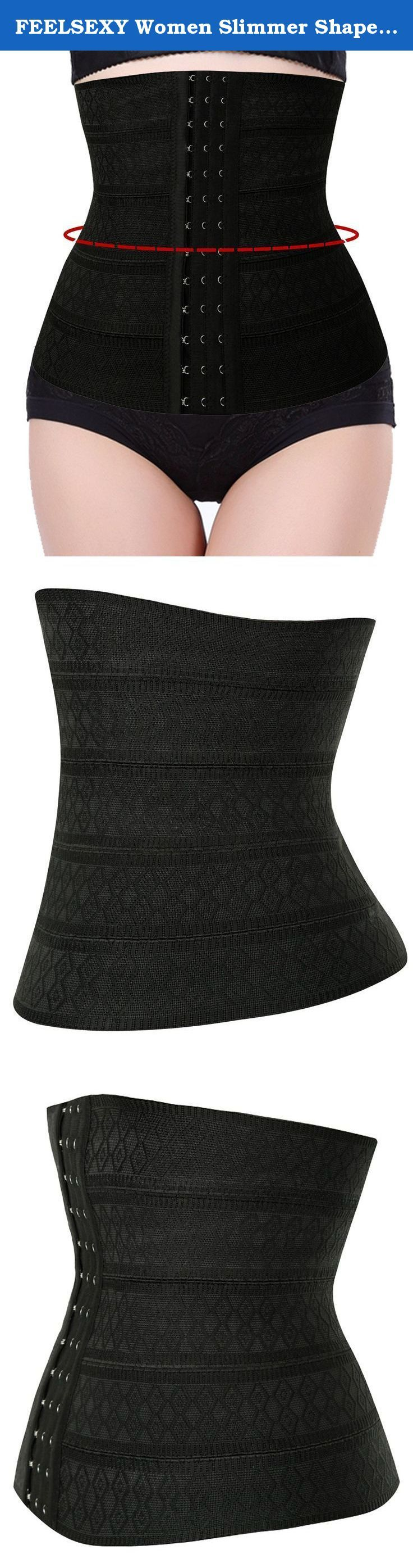 FEELSEXY Women Slimmer Shapewear Waist Cincher Trainer Corset Shaper Fat Burner. Please use our own Size Chart guide located on the left of the product image. Do not use the Amazon size guide.and choose the proper size based on your waist size. Please Attention: 1.Only hand washing ,No Iron/No Machine Washing/No Chlorine bleaching/No Dry cleaning. 2.Find your perfect size. When figuring out the size of shapewear that is right for you, use your dress size as your guide. There may be slight...