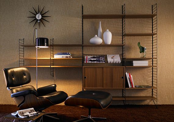 string® system - shelves, cabinet and chests of drawers