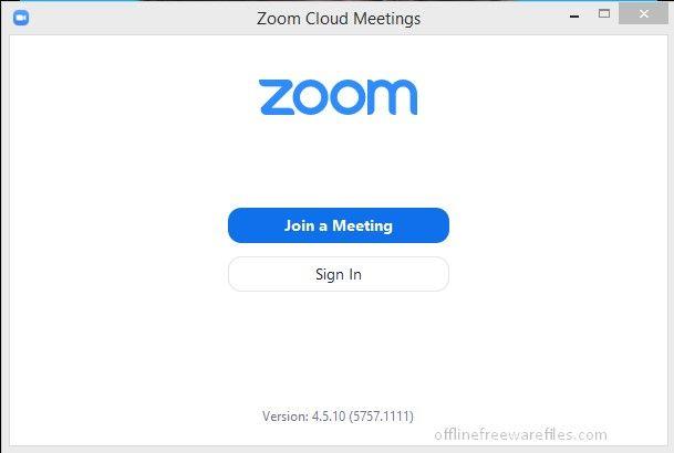 Zoom Video Calling App Download For Windows Zoom Cloud Meetings Zoom Video Conferencing Download App