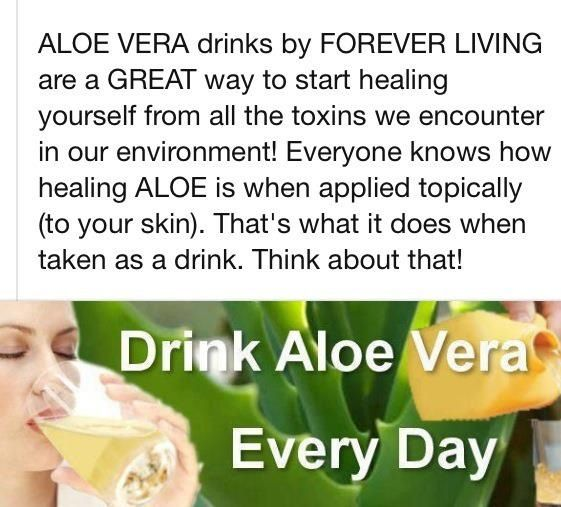 Drinking Forever Aloe Gel  Check out my page to order www.myloveofaloe.myflpbiz.com