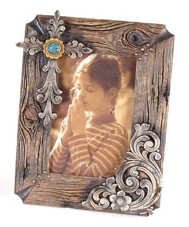 Take a look at this Cross Western Frame by Lynn Roberts International on #zulily today!