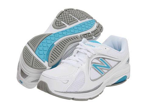 Womens Shoes New Balance WW847 White/Blue