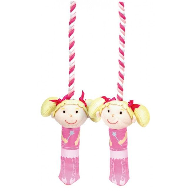 Skipping is a fantastic and FUN form of exercise - and who would resist with this super cute fairy skipping rope?! It sports some very soft fabric handles, making them extra comfy to grip. The best part is that it can be used indoors or outdoors! #entropytoys #activetoys #exercise #health #motorskils