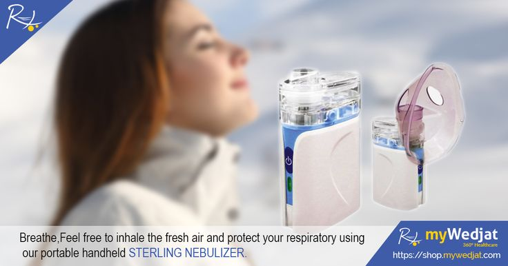 Breathe,Feel free to inhale the fresh air and protect your respiratory using our portable handheld STERLING NEBULIZER.  https://goo.gl/izuImW  #myWedjat #inhale #Nebulizer