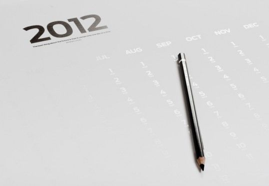 """""""The best thing about the future is that it only comes one day at a time"""" sketch on each date in order to reveal the future."""