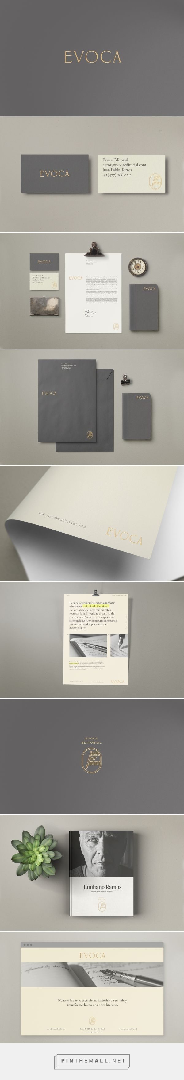 Evoca Editorial Branding by Treceveinte | Fivestar Branding Agency – Design and Branding Agency & Curated Inspiration Gallery