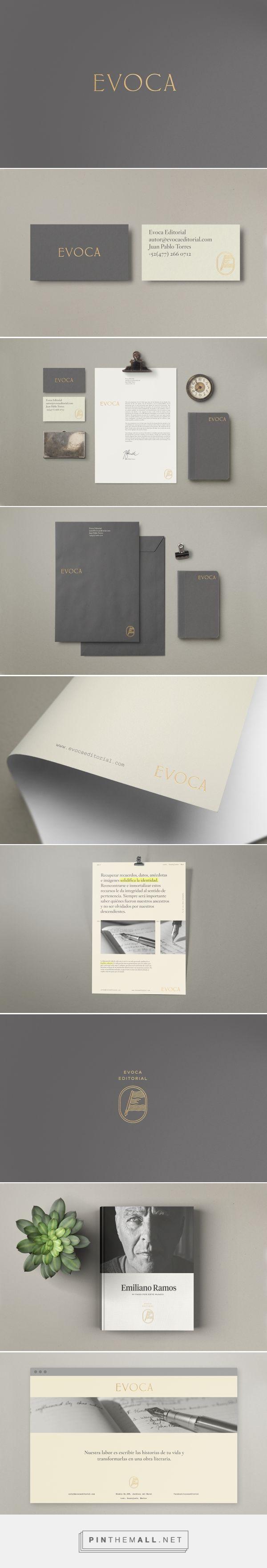 Evoca Editorial Branding by Treceveinte | Fivestar Branding Agency – Design and Branding Agency & Curated Inspiration Gallery