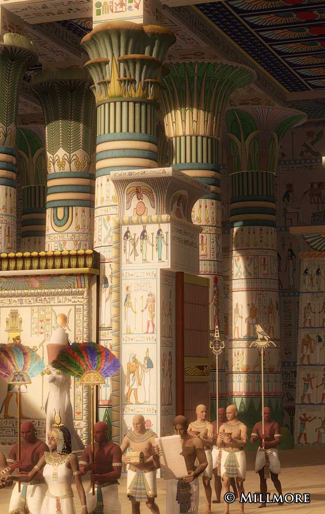 """Edfurecon  The temple of Karnak was known as Ipet-isu—or """"most select of places""""—by the ancient Egyptians. All Text & artwork is © Mark Millmore."""
