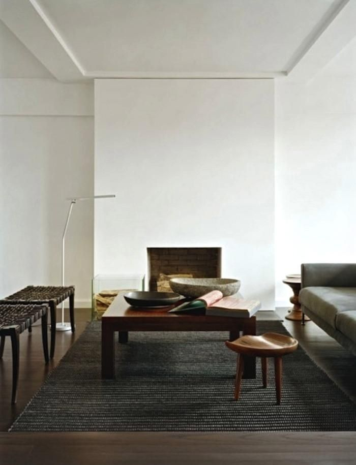 10 Favorites: Minimalist Fireplaces from Members of the Remodelista Architect/Designer Directory