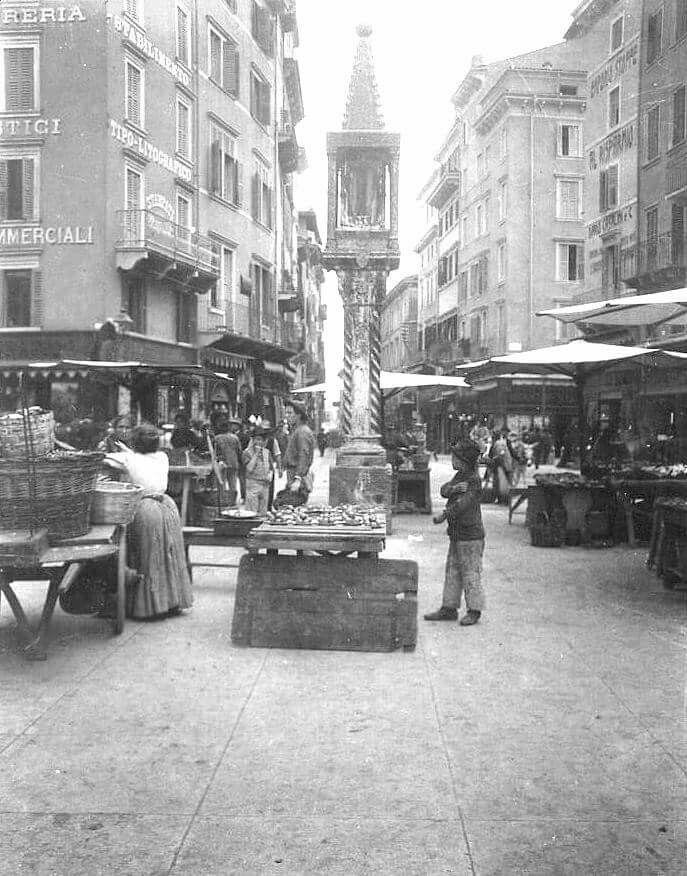 #ceraunavolta Verona Piassaroti ai primi del 900