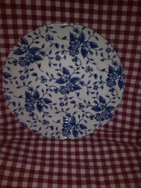Royal Tudor Grindley Bouquet Blue ontbijtbord