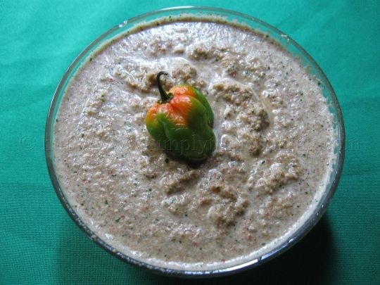 Paleo Coconut Chutney