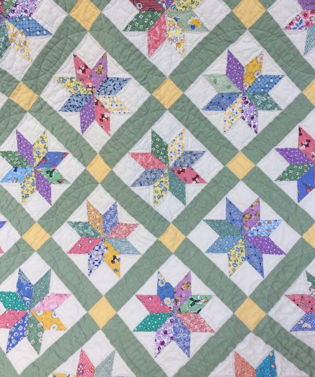 Finish It Up Friday ~ Lemoyne Star | KatyQuilts