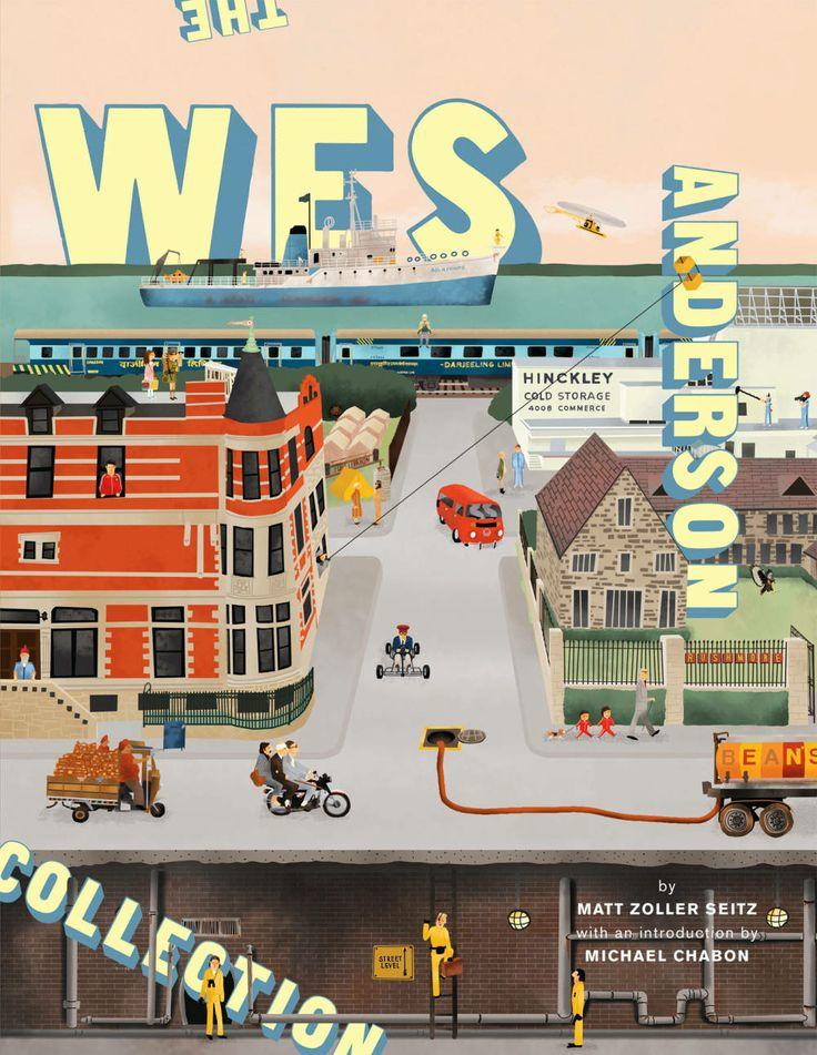 The Wes Anderson Collection book. ¡Quiero, quiero!