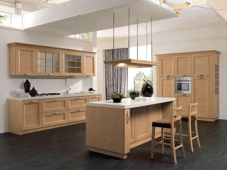 Pi di 25 fantastiche idee su cucine in legno chiaro su pinterest pavimenti in legno chiaro - Cucine in legno chiaro ...