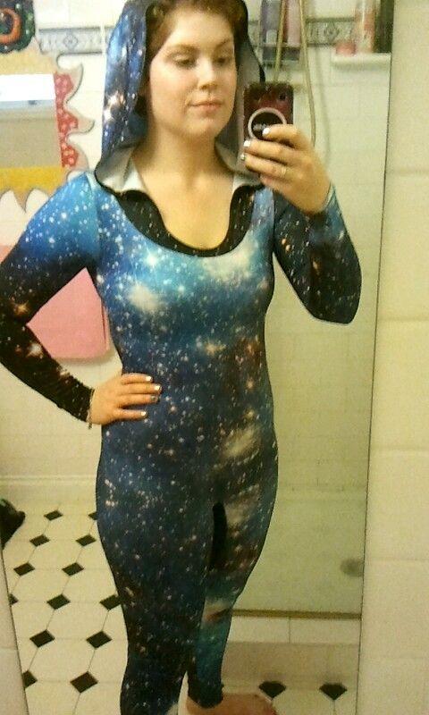 Galaxy Blue long sleeve ninja suit UNRELEASED SAMPLE