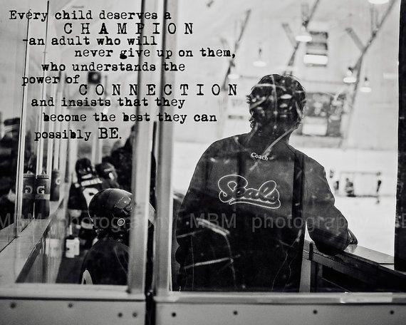 Hockey Coach Print 8x10 by SportyPrintsbyMBM on Etsy