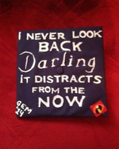 Amazing DIY Pixar Graduation Cap Ideas (The Incredibles quote)