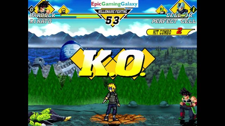 Minato And Bardock VS Cell Jr. And Perfect Cell In A Dragon Ball Z VS Naruto MUGEN Edition Match This video showcases Gameplay of Bardock The Saiyan Father Of Goku and Minato The Fourth Hokage VS Cell Junior And Perfect Cell In A Dragon Ball Z VS Naruto MUGEN Edition Match / Battle / Fight