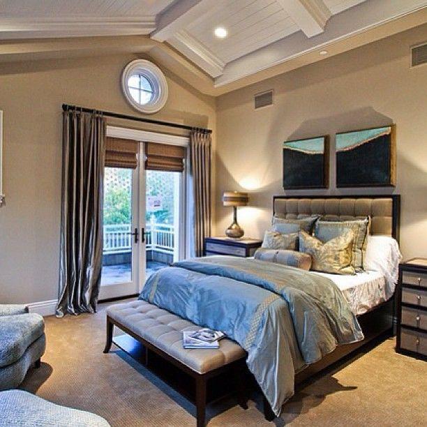 Интерьер спальни  🌜🌠⭐ #интерьер #кровать #спальня #дизайн #постельноебельё #окно #шторы #картина #подушки #стены #interior #decor #design #style #pillow #bed #bedroom #room #curtains #chair #window #стиль #декор