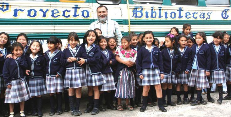 Mobile library, Proyecto Bibliotecas Guatemala.: Bibliotecas Guatemala, Bring Smile, Mobile Library, Proyecto Bibliotecas, Biblioteca Guatemala, Mobiles Libraries, Around The World