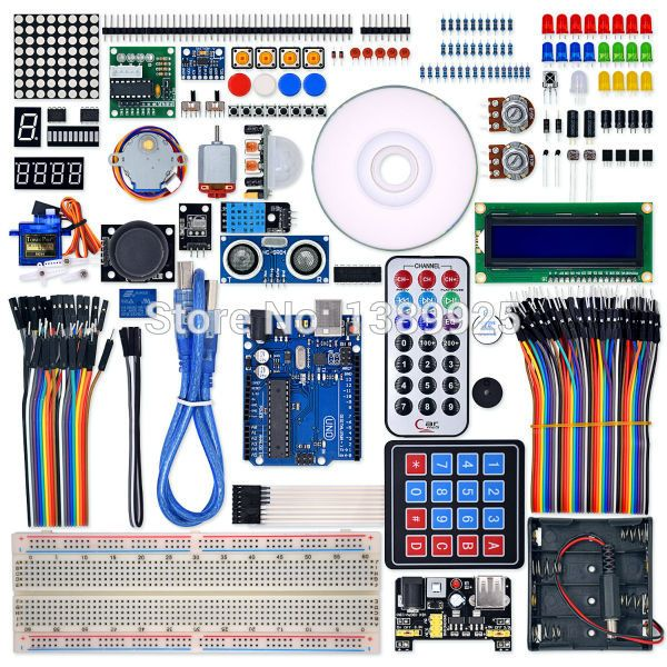 Ultimate Starter learning Kit for UNO R3 LCD1602 Servo