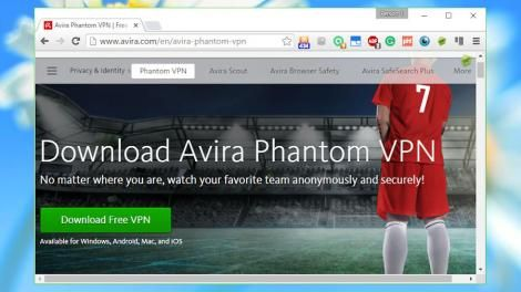 Review: Avira Phantom VPN