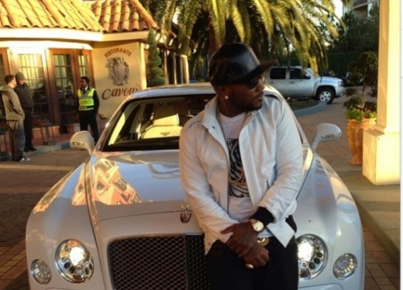 Young Jeezy drives Bentley Mulsanne