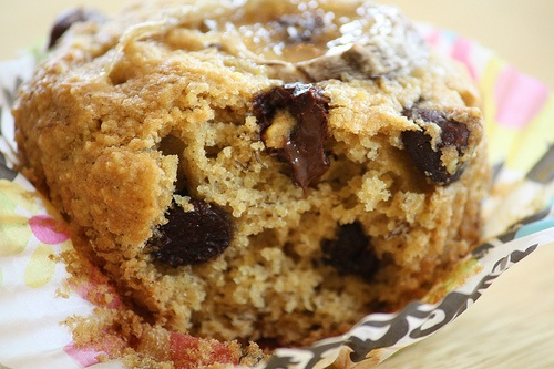 Millet Banana Chocolate Chip vegan muffins from Peas and Thank You ...