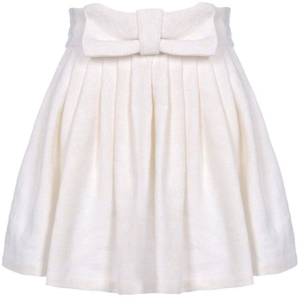 25+ best ideas about White pleated skirt on Pinterest ...