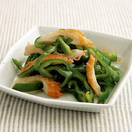 ピーマンとちくわのあえもの | 藤野嘉子さんのおつまみの料理レシピ | プロの簡単料理レシピはレタスクラブネット