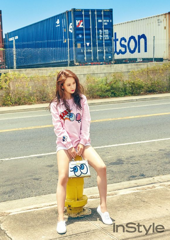 Song Ji Hyo Shows Off Her Hot Summer Body for InStyle Magazine | Koogle TV