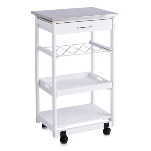 Found it at Wayfair.co.uk - Kitchen Cart with Stainless Steel Top