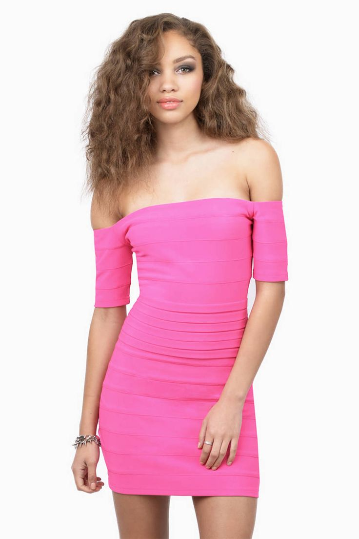 Looking for the Supremacy Pink Bodycon Dress?   Find Bodycon Dresses and more at Tobi! - 50% Off Your First Order - Fast & Free Shipping For Orders over $50 - Free Returns within 30 days!