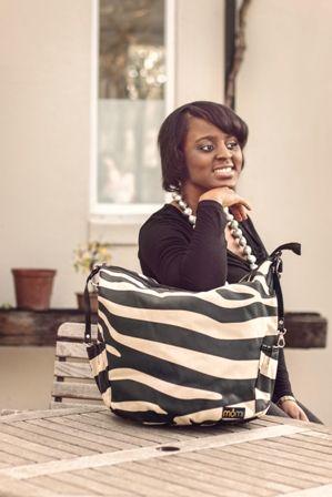 City Safari chic nappy bag for stylish moms.