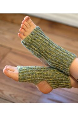Calcetines para yoga. Gráfico descargable