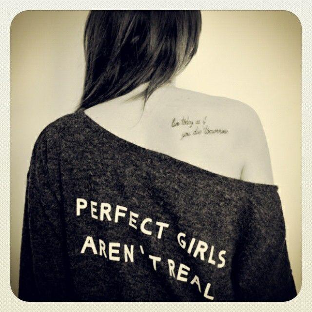Perfect girl tattoo ;)