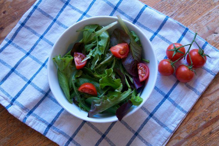 Yummy fresh salad for lunch