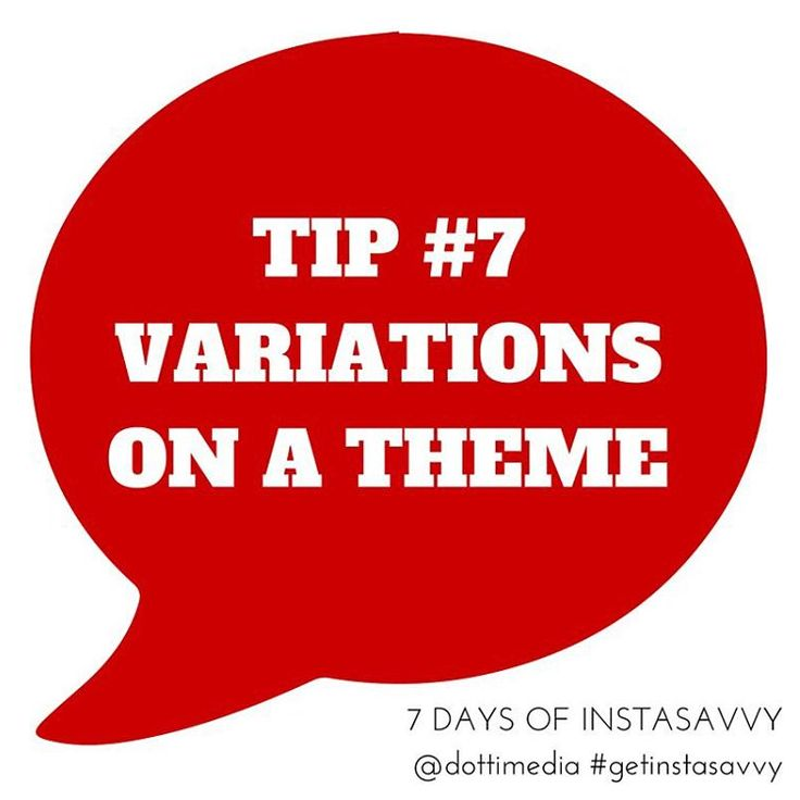 #7DaysofHashtagSavvy DAY 7: Variations on a Theme.  1. By now you should have a good idea of which hashtags to use, where to use them and how to write them 2. You might still be a few hashtags short so try up variations  3. Try adding in slightly different versions of the hashtags you have 4. You should also change them up for each post so you can add a few unique ones every time!  Dotti Media. Connecting the hashtag dots.