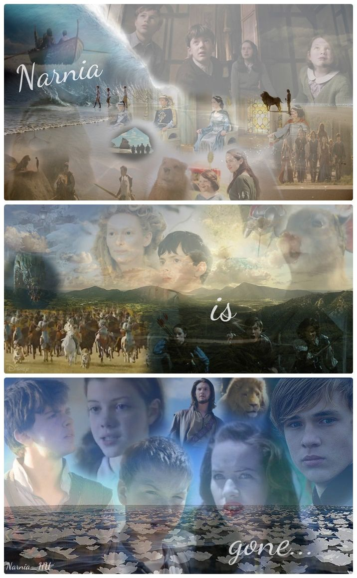 NARNIA IS NOT GONE ITS STILL IN OUR HEARTS!! DO NOT DARE SAY ITS GONE CAUSE IT AIN'T