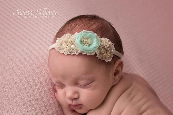 LINDA HEADBAND newborn size