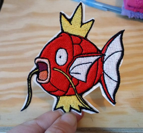Check out this item in my Etsy shop https://www.etsy.com/listing/295165189/magikarp-pokemon-patch