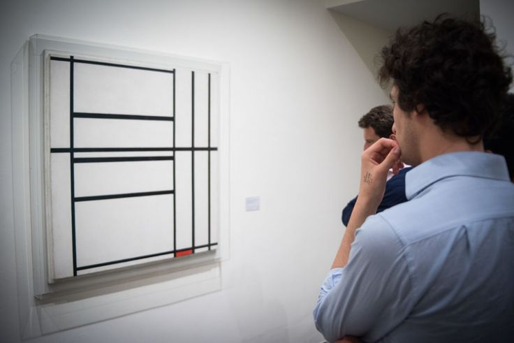"""Composition No. 1"", Piet Mondrian"